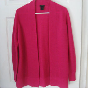 Ann Taylor Petite Pink Cardigan Sweater Size MP